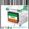 Shopping Trolley Front Double Side Advertising Board Frame