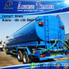 36000 Litres Gasoline Crude Oil Road Tanker Semi Trailer, Tri-Axle Water Tank Trailer for Tractor / Fuel Tank Trailer
