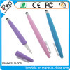 Promotional Pen 2 in 1 Rugby Shaped Stylus Pastel Color for Touch Panel Equipment