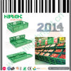Shopping Mall Vegetable and Fruit Foldable and Nestable Crate
