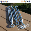 Open Die Forged Electro Galvanized JIS Frame Turnbuckle