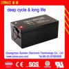 Long Life Deep Cycle VRLA Battery 12V 250ah for Solar