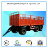 50t Cargo Transport Side Wall Full Trailer with 3 Axles