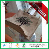 Screen Printed Nature Jute Burlap Bag Hemp Sack