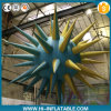 Hot Selling Club Ceiling Decorations Inflatable Spiky Star Balloon for Event, Party Decoration