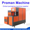 Semi Automatic Type 2 Cavity Two Blowers Pet Bottle Making Machine