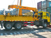 HOWO 8-12 Tons truck mounted crane