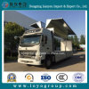 China Truck HOWO A7 10 Wheelers Cargo Wing Van Truck