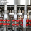 Sunswell HDPE Bottled Dairy Products with Aluminum Foil Filling Sealing Machine