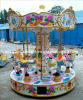 Hot Small Amusement Park Carousel Ride with 6 Riders