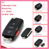 Remote for Auto VW with 2+1 Buttons 1 Jo 959 753 N 433MHz for Europe South America