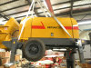 Small Concrete Pump (HBTS50-13-92R)