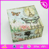 Wholesale Small Useful Organization Decorative Lockable Wooden Box W18A027