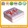 Square Food Tin Container, Metal Tin Box