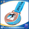 Zinc Alloy Marathon Award Medal with Soft Enamel