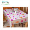 PEVA Fabric Colour Printed Table Cloth for Gift