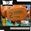 2 Ton Vital Chain Block 3 Ton Lever Block 5 Ton Hand Chain Hoist Construction Lifting Equipmrnt