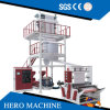 High Speed ABA 3 2 Layer Mini HDPE LDPE PE Blown Film Extruder Agriculture Polyethylene Plastic Film Blowing Machine Price