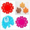 Fancy Cup Mats/Felt Easter Placemat/Crochet Cotton Coasters