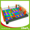 Build Kids Indoor Jumping Gym Trampoline with Colorful Mat