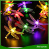 30 LED 6m Dragonfly Solar Power String Lights Waterproof Lamp for Outdoor Indoor