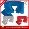 Professional Travel Air Pillow Flocked PVC Inflatable Neck Pillow