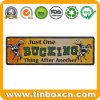 Rectangle Custom Decoration Metal Advertising Tin Sign