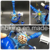 Electronic Cigarette Gear Head Double Recycler Percolator Black Jade Double Recycle Glass Smoking Pipes Glass Pipe
