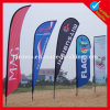 Outdoor Advertising Blade Flag with Base