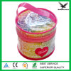 Round Shape Small PVC Pouch PVC Coin Case