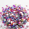 Ss20/5mm Siam Ab Glue on Rhinestones Foil Back Rhinestone (FB-ss20 siam ab)
