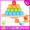 2015 DIY Construction Kids Toy Block Toy, Intelligent DIY Wooden Blocks Toy, DIY Wooden Building Blocks Brain Training Toy W11f050