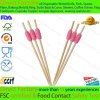 Disposable Bamboo Decorative Bead Skewer Cocktail Fruit Food Skewer