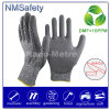 Nmsafety DMF Free PU Coated Cut Resistant Work Safety Glove