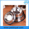 Factory Pet Supply Product Accessories Stainless Steel Pet Dog Bowl