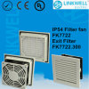China Fast Installation Easy Connection Fan Ventilator with Micro Fiber Filter Pad for Power Distribution Control Panel Board (FK7722)