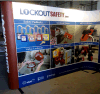 Exhibition Pop up Display Magnetic Trade Show Stand
