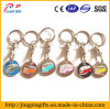 Car Logo Metal Key Chain of Supermarket Trolley Token Coin