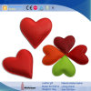 Heart Shaped Wholesale Custom Promotionla Leather Paper Weight (4774R12)