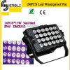 24PCS RGBW 4in1 Waterproof LED PAR Light for Stage (HL-028)