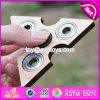 Heißestes Handspinner-Unruhe-Spielzeug hölzerner EDC-Tri Spinner W01b045