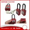 cadeado da segurança do grilhão do plástico de 38mm com chave mestra