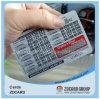 Scheda di carta del PVC della scheda del trasporto della scheda di nome della scheda in bianco della scheda del telefono