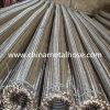 Boyau ondulé annulaire de métal flexible d'acier inoxydable avec tressé