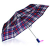 Folding Automatic Open/Close Pongee Umbrella-3522