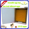 Automatic lleno 2112 Poultry Egg Incubator para Sale