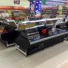 Cabina del escaparate de la carne del refrigerador del caso de la tienda de delicatessen de China
