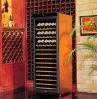 armário de madeira do vinho 380l