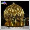 Indicatore luminoso gigante esterno della decorazione della sfera di natale del fornitore LED della Cina