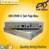 DVB-C MPEG-4/H. 264 HD STB 고정되는 최고 상자 (HT202C)